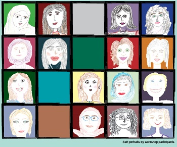 Spotlight story image pertaining to self portraits of migrant women